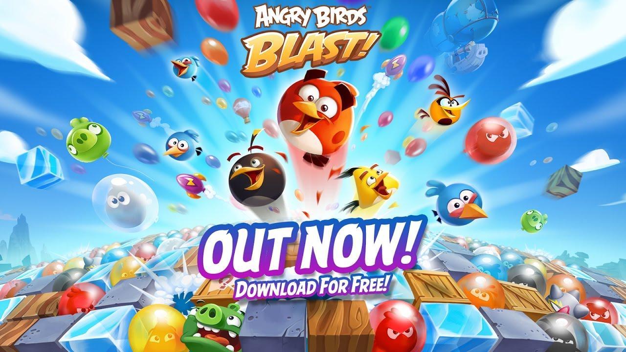 Trailer Angry Birds Blast