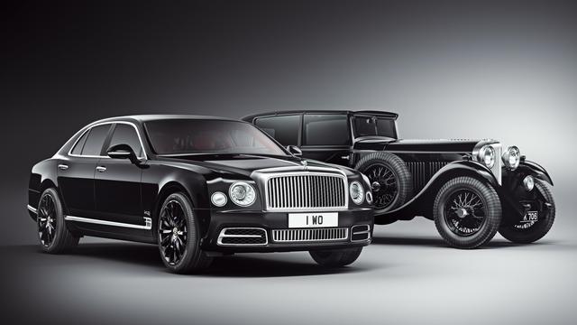Bentley presenteert gelimiteerde versie van Mulsanne