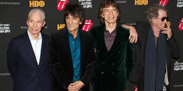Rolling Stones konden vanwege coronarestricties niet naar uitvaart Charlie Watts