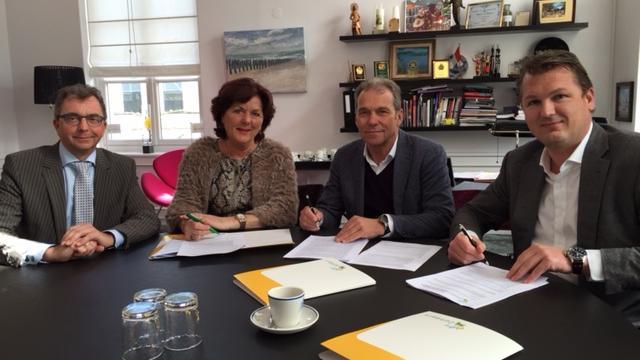 Handtekening markeert nieuwe fase De Groene Kamers Rijsbergen