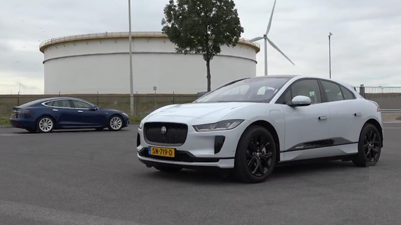 Tesla Vs Jaguar 2019 Wordt Belangrijk Voor Luxe Elektrische Auto