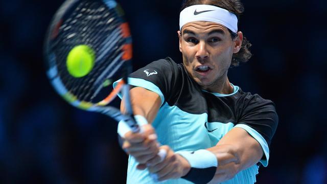 Nadal imponeert tegen Wawrinka bij ATP World Tour Finals