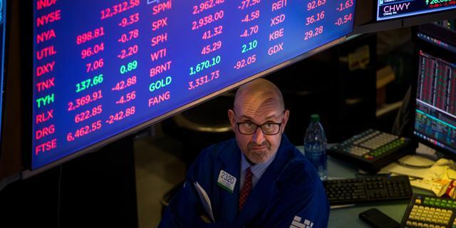 Handel op Wall Street na een seconde stilgelegd door dieprode opening