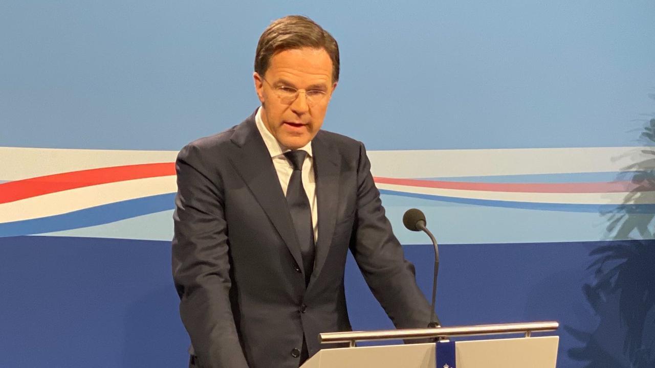 Premier Rutte: 'Hamsteren is niet nodig en niet sociaal'