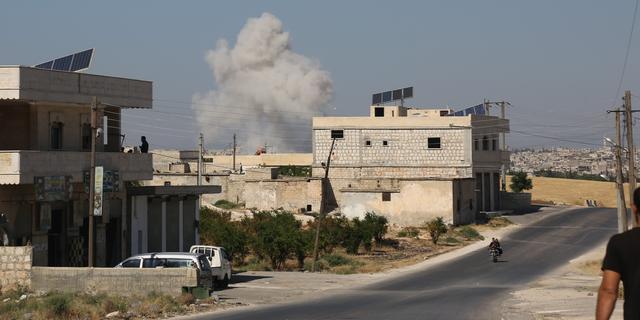 Tienduizenden Syriërs op de vlucht voor nieuwe aanvallen op Idlib