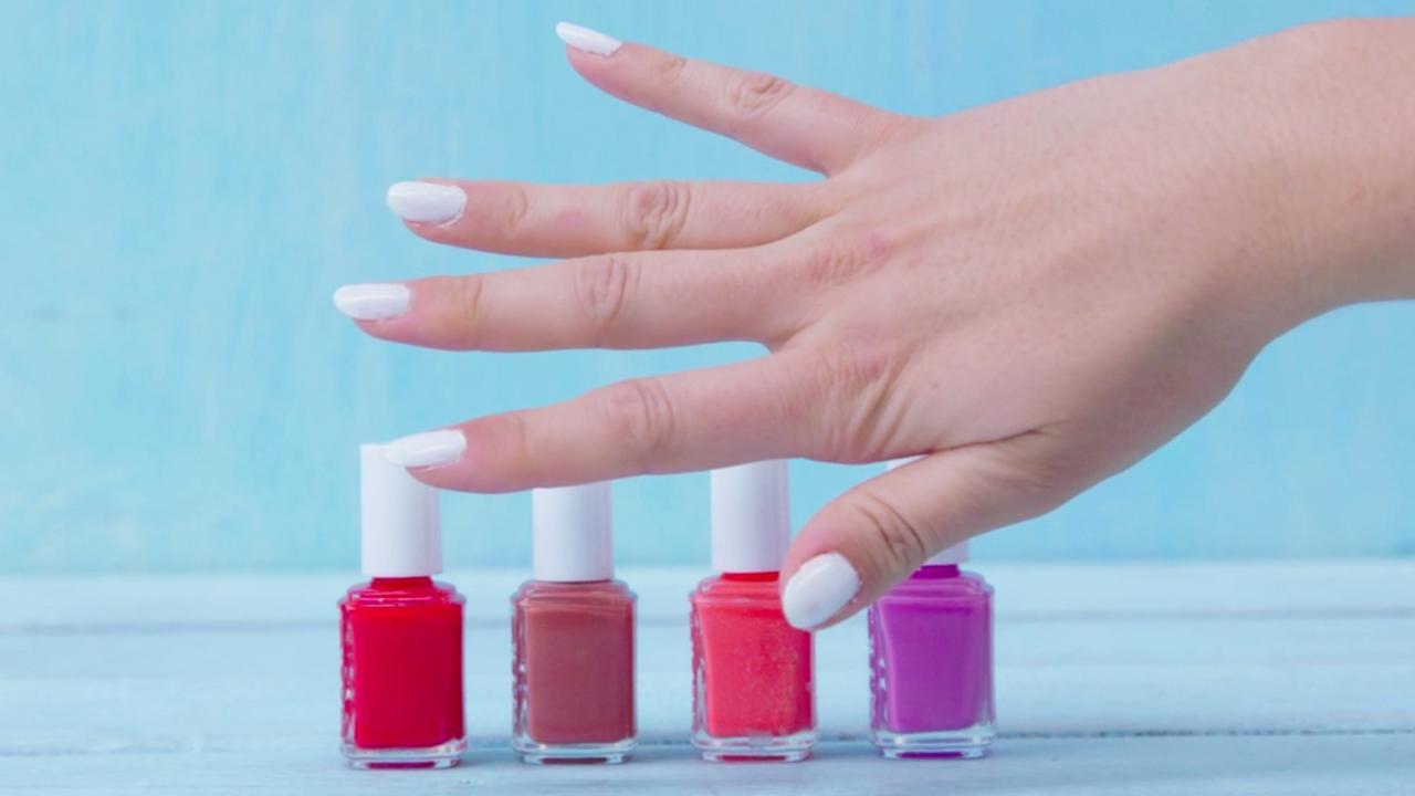 Lifehack: Zo krijg je kleurrijke marmeren nagels