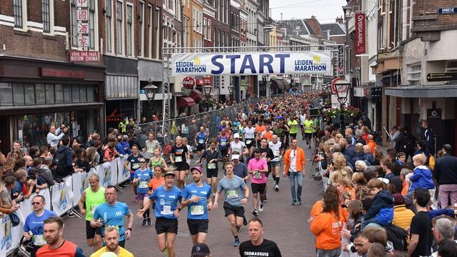 Leiden Marathon houdt online editie in week van 22 november