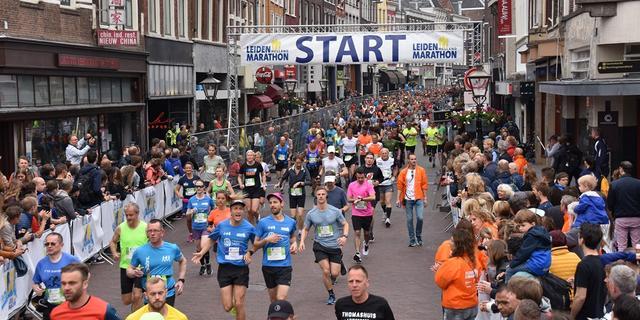 Leiden Marathon komt met sponsoractie en online variant van evenement