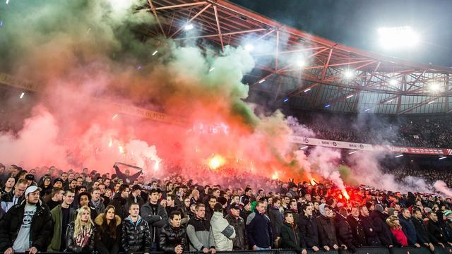 KNVB beboet Feyenoord voor gedrag fans in bekerduel met AZ