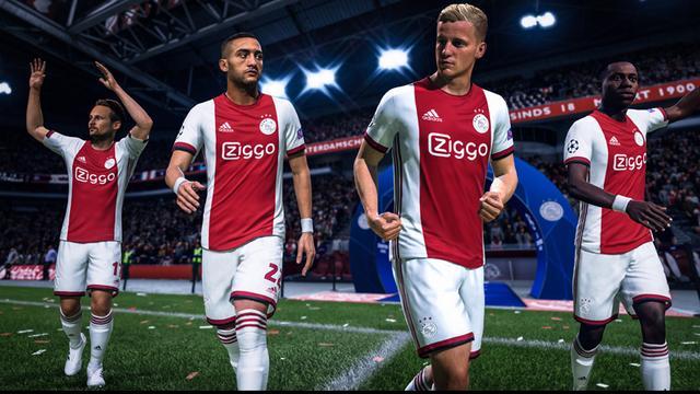 Ajax eerste Nederlandse club met realistische gezichten in FIFA
