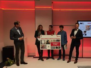 Drie talentvolle ontwerpers wonnen de Toon Design Challenge met een idee dat lijkt op een goocheltruc: het met één gebaar regelen van licht of warmte.