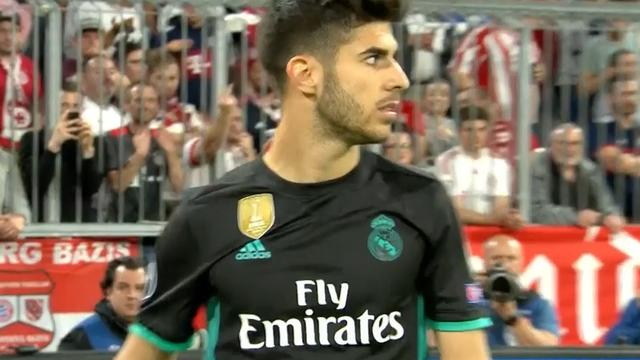 Asensio zet Real Madrid na snelle counter op voorsprong