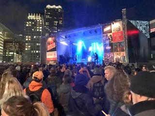 Concerten in Haagse binnenstad trekken naar schatting 200.000 mensen