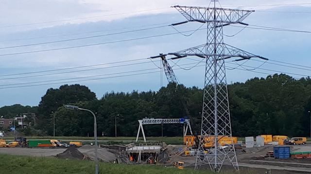 Kruising Oosterhavenweg in Vlissingen week dicht voor realisatie rotonde
