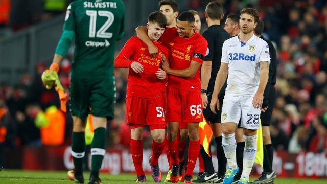 Liverpool naar laatste vier League Cup, Eupen verrast Club Brugge