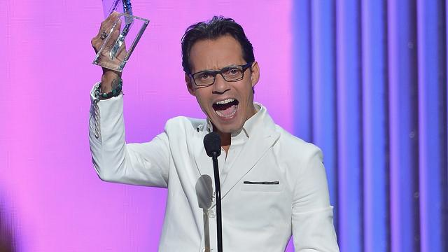 Marc Anthony geeft concert in Ahoy