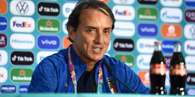 Mancini ziet openingsduel voor Italië als start van route naar Wembley