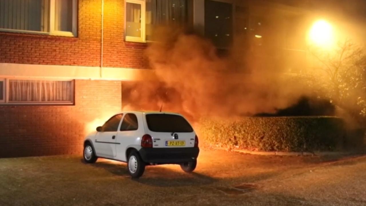 Autobranden in Vlaardingen