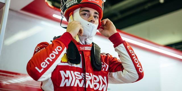 Leclerc klokt in Ferrari snelste tijd tijdens laatste testdag van seizoen
