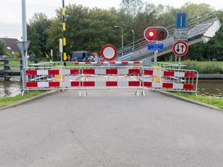 Voetgangers en fietsers moeten twee kilometer om