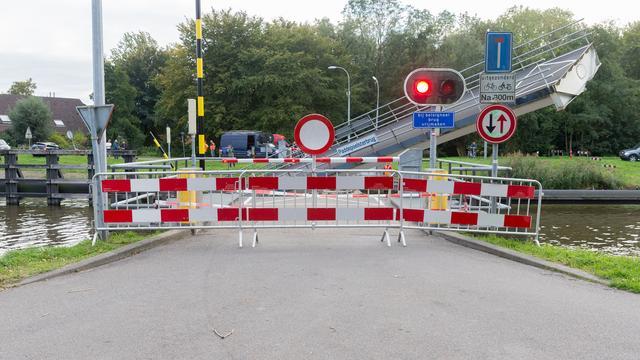 Scheepvaart kan weer gebruik maken van Paddepoelsterbrug