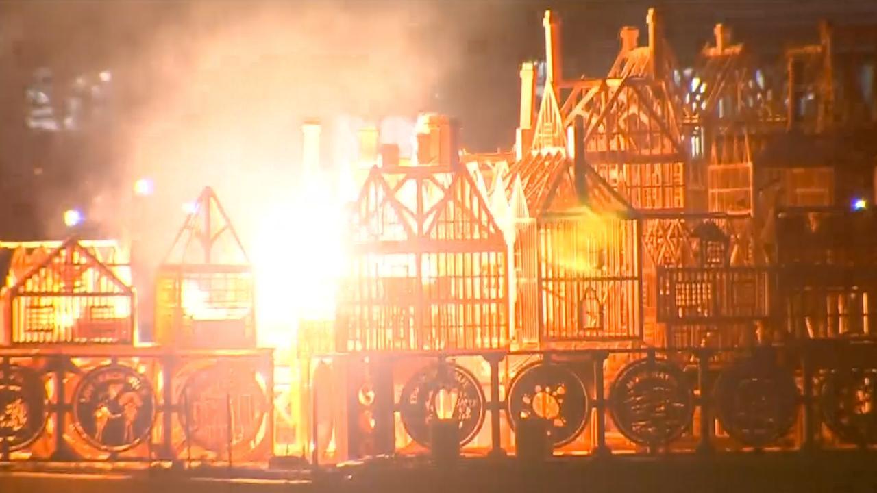 Grote brand van Londen herdacht