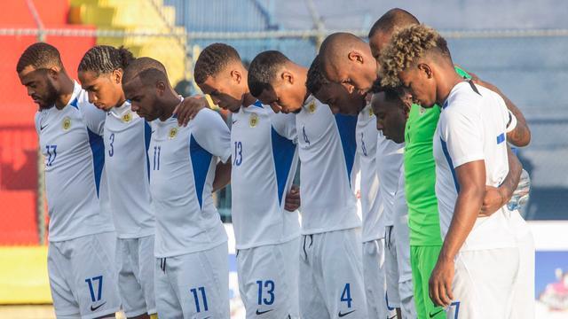 Curaçao speelt twee dagen na dood reservekeeper Pieter gelijk tegen Haïti