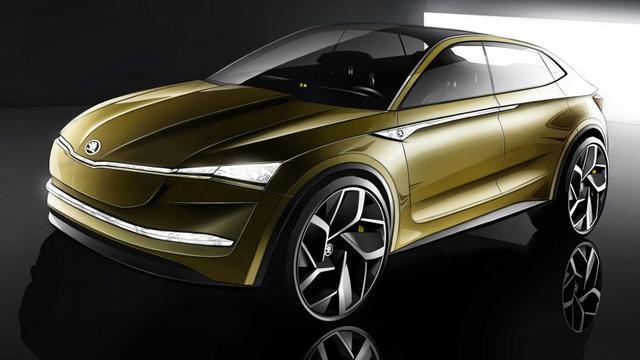 Skoda toont conceptcar als startschot elektrisch modellengamma
