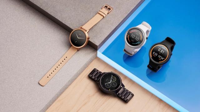 Nieuwe versie Moto 360-smartwatch komt in meerdere formaten