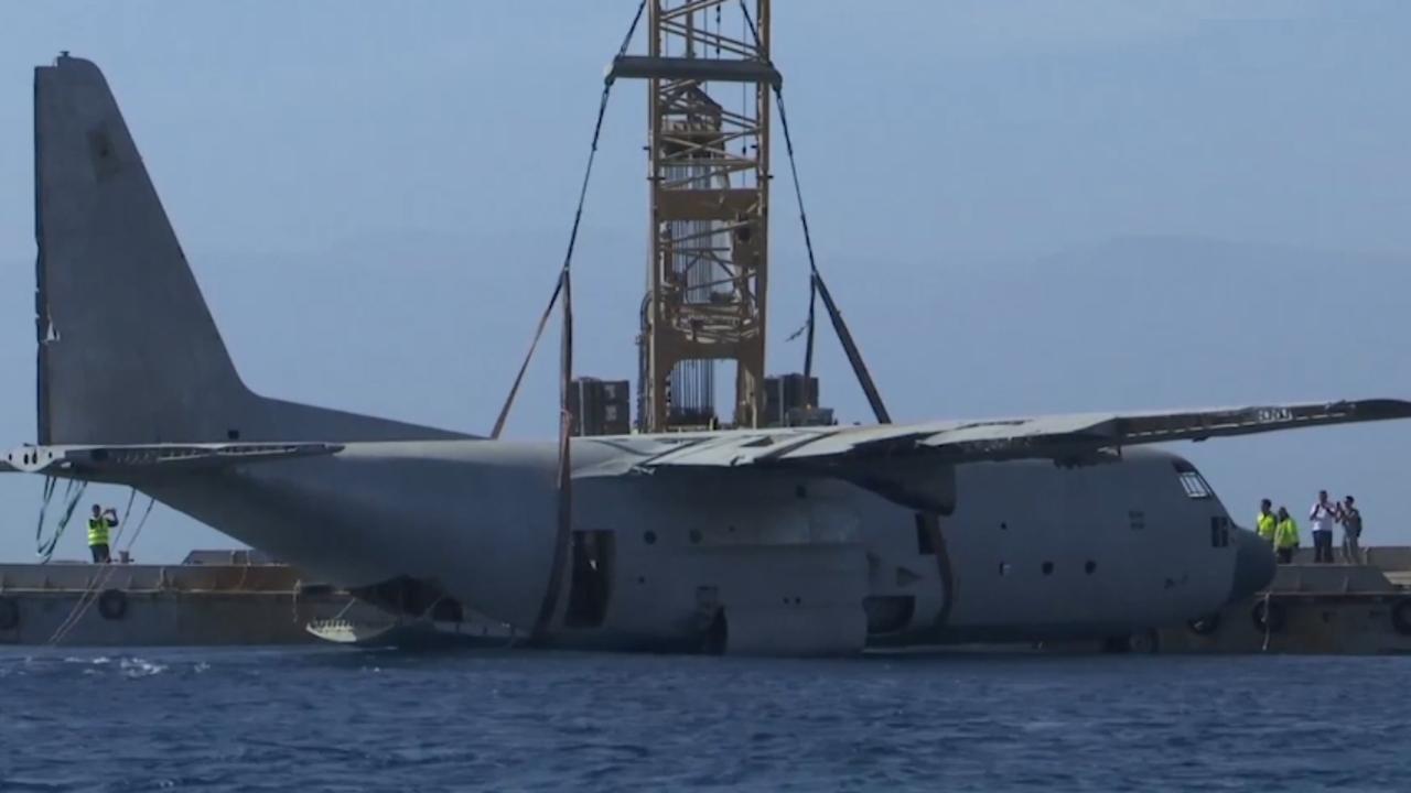 Jordanië laat groot militair vliegtuig zinken in zee voor koraal