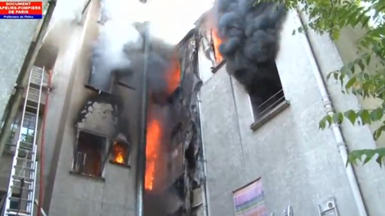 Minstens vijf doden bij brand in voorstad Parijs