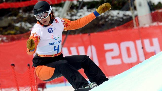 In 2014 pakte Bibian Mentel voor het eerst paralympisch goud.