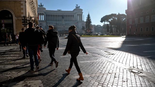 Italiaanse bevolking krimpt voor het eerst in jaren