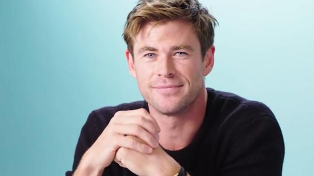 Chris Hemsworth ontdekte acteertalent door leugens