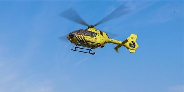 Persoon gewond na val van hoogte in Eindhoven, traumahelikopter landt