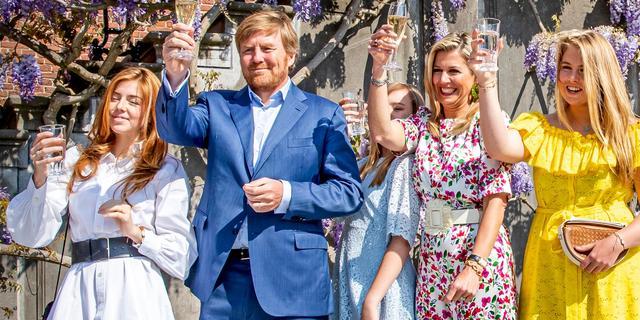 Koning Willem-Alexander rijdt dit jaar in auto-optocht tijdens Koningsdag