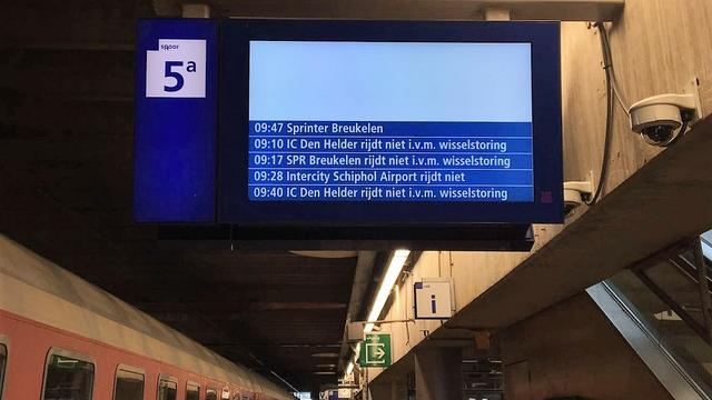 Gloednieuwe wissel zorgde voor grote storing op Utrecht Centraal