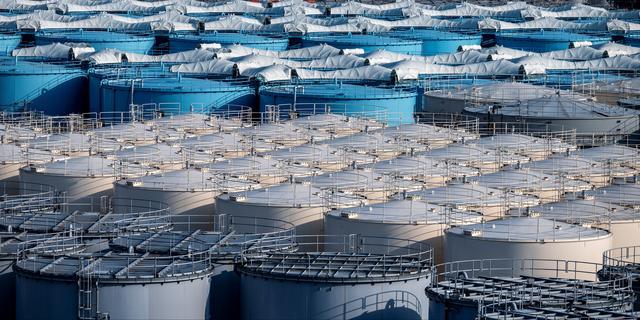 Japan wil radioactief water kerncentrale Fukushima over twee jaar in zee lozen