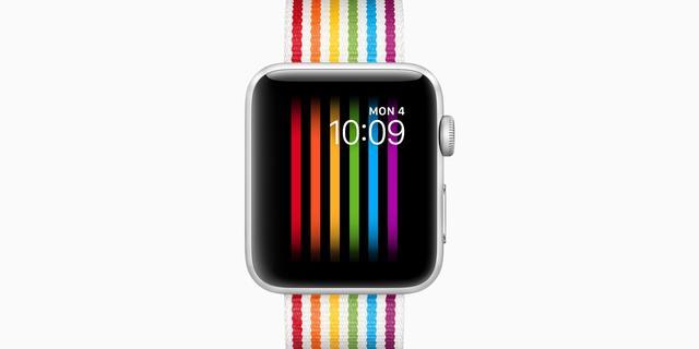 'Pride-wijzerplaat Apple Watch wordt in Rusland automatisch verstopt'