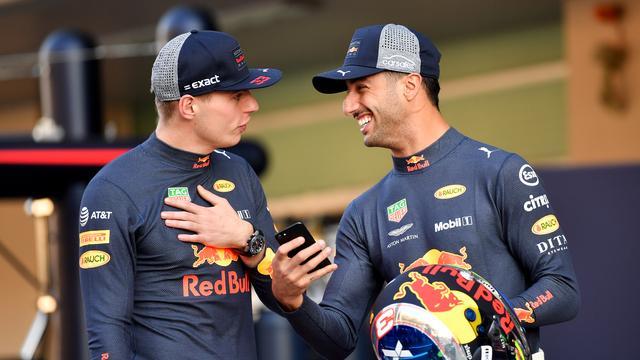 Ricciardo: 'Kon me bij Verstappen geen slechte dag veroorloven'