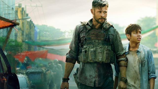 Extraction met Chris Hemsworth is best bekeken Netflix Original-film