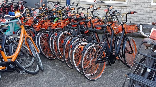Gemeente mocht deelfietsen FlickBike de stad uit sturen