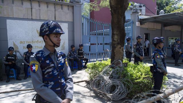 24 gewonden door explosie in ziekenhuis voor veteranen Bangkok