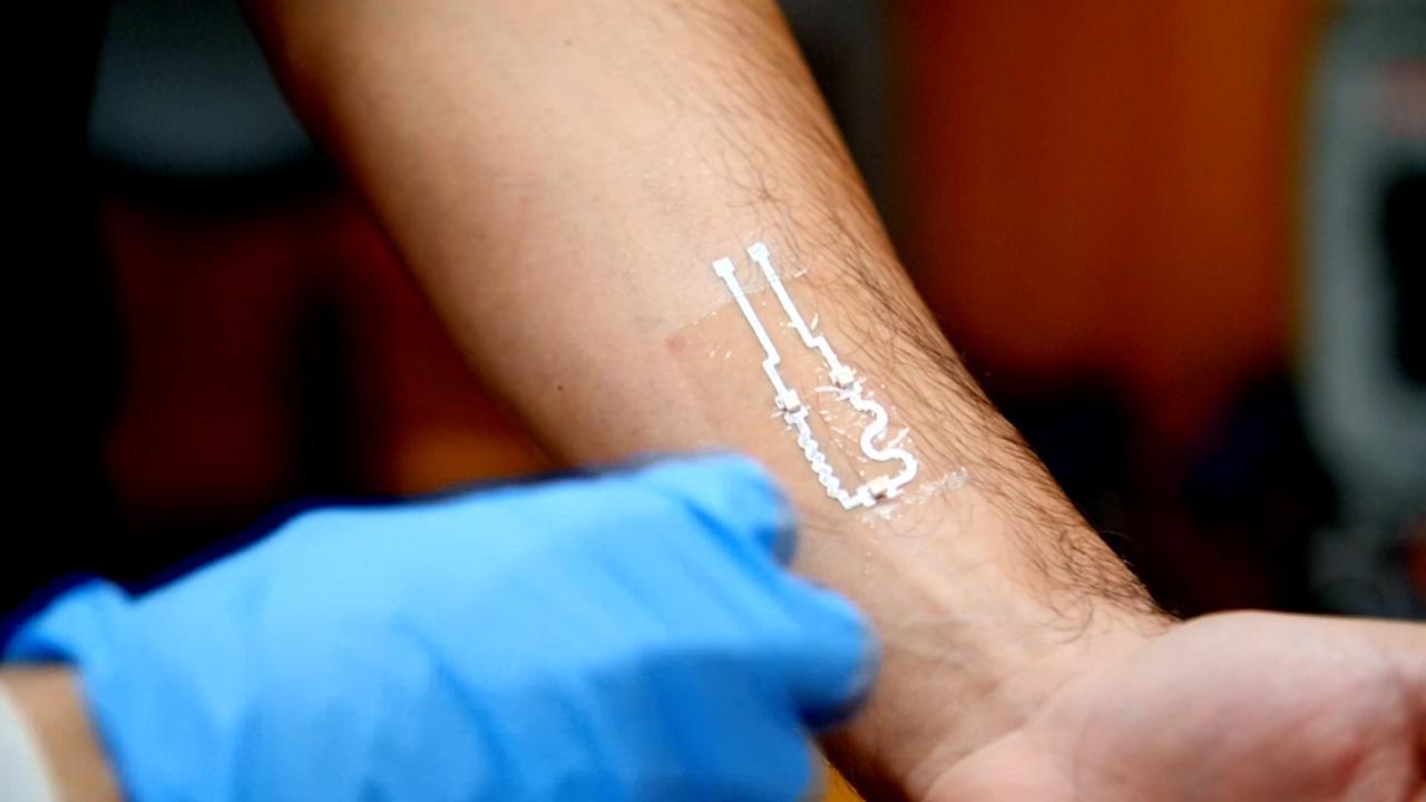 Elektronische 'tatoeage' kan ledematen bedienen