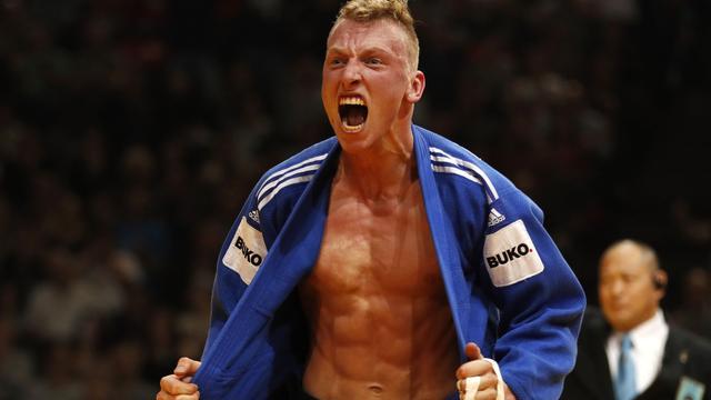 Geen kans meer op brons voor De Wit op WK judo na verlies in herkansingen