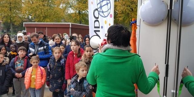 Basisschool Leimundo neemt nieuw schoolgebouw in gebruik