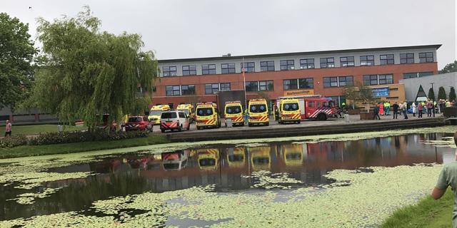 Ruim dertig kinderen en docenten onwel op school in Grootebroek