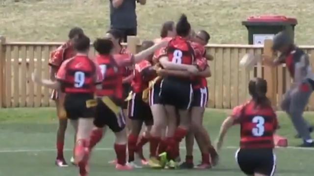 Australisch rugbyteam verspeelt winst door te vroeg te juichen