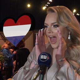 Video | Songfestival: Nikkie gilt van enthousiasme en massale vuurwerkshow