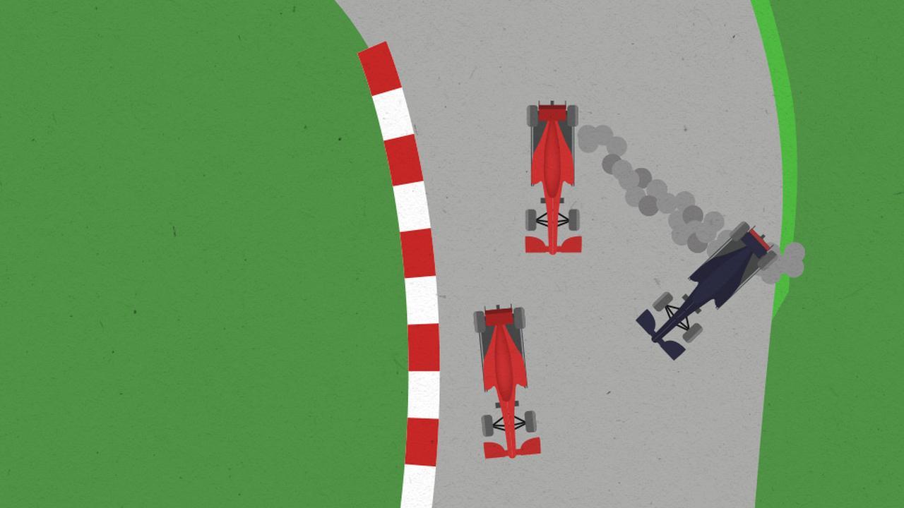 Waarom botste Leclerc op Verstappen in de GP van Japan?